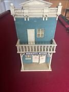 Lgb Pola  Sheriff Building - Weather Proofed Model Building G-scale Used