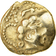 [858667] Coin Veneti 1/4 Stater 2nd Century Bc Ef40-45 Gold