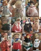Vintage Doll Lot - Effanbee, Brinn, Vogue, And More