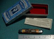 1991 Case Classic 53091 Stag Whittler Pocket Knife Bomb Shield