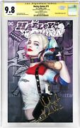 Harley Quinn 75 Photo Cover__cgc 9.8 Ss__signed By Margot Robbie