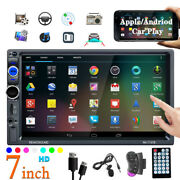 2 Din 7and039and039 Hd Touch Screen Bluetooth Multimedia Radio Stereo Fm Car Mp5 Player Fm