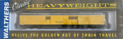 Walthers Heavyweight 932-10531 Maintenance Of Way Hwt Baggage Car Prr
