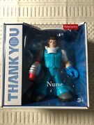 Fisher Price Thank You Heroes Male Nurse Gyj31 Sealed
