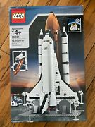 New Lego 10231 Shuttle Expedition Space Satellite Astronaut Solar Nasa Dented