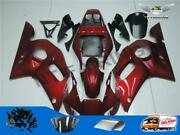 Wo Injection Mold Red Abs Plastic Fairing Fit For Yamaha 1998-2002 Yzf R6 J001