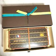 Louis Vuitton Vip For Customers Novelty Rare Monogram Trunk Object Paper Weight