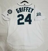 Authentic Russell Athletic 52 2xl Ken Griffey Jr., Seattle Mariners Jersey Rare