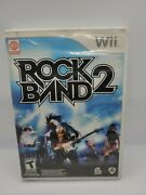 Rockband 2 Wii Replacement Case And Manual Only