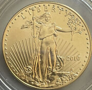 """2010 1 Oz 50 Gold American Eagle Bu-""""nice Looking Coin'"""" """"last One"""" Gold Is📈"""