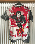 Sid Vicious T-shirt L / Great Rockand039nand039roll Swindle Bleached Vtg Sex Pistols 1989