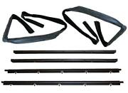 Window Sweep Belt And Glass Run Channel Set For 82-94 Chevy Gmc S10 Blazer Jimmy