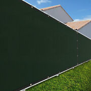 4ft Large 170gsm Fence Windscreen Privacy Screen Shade Cover Mesh Garden-green