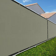5ft Large 170gsm Fence Windscreen Privacy Screen Shade Cover Mesh Garden-sand