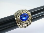 @ Solid 10k Gold The Virginia Military Institute Ring 1961 Thick Size 13