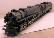 O 2r Brass Sunset Models Union Pacific 4-12-2 9000 Factory Painted