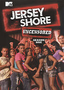 Jersey Shore The Complete First Season One  3 Dvd Set, 2010 Uncensored Mtv