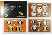 2011 Proof Set United States Us Mint Original Government Packaging Box And Coa