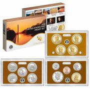 2014 Proof Set United States Us Mint Original Government Packaging Box And Coa