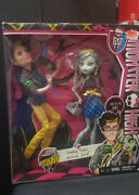 Monster High Picnic Casket 2 Doll Pack Jackson Jekyll And Frankie Stein New Sealed