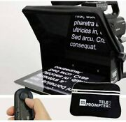 Teleprompter Pad Teleprompterpad Ilight Pro 10and039and039 - 100x100 Aluminum - Remote