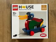 Lego 40501 The Wooden Duck - Factory Sealed In Perfect Condition