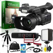 Panasonic Ag-ac30 Full Hd Camcorder +touch Panel Lcd Viewscreen And Built-in Led