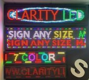 Wifi Led Scrolling Sign Digital Programmable Moving Message Display Board Colour