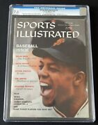 Willie Mays Cgc 7.5 1959 Sports Illustrated Newsstand Highest Graded 1 Of 2