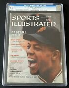 Willie Mays 1959 Sports Illustrated Newsstand Cgc 7.5 Highest Graded 1 Of 2