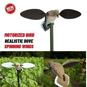 Voodoo Dove Decoys Realistic Motion Pigeon Motorized Bird For Outdoor Hunting