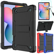For Samsung Galaxy Tab A7 10.4'' 2020 Case Stand Cover+tempered Glass Protector