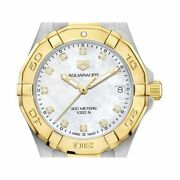 Tag Heuer Womenand039s Wbd1322.bb0320 Aquaracer Diamond Stainless Steel Watch