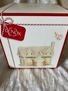 Lenox Holiday Villagelit Sweet Shoppe New In Box Lights Up Christmas Retired