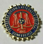 Tennessee District Attorneys General 1961 Conference Lapel Pin