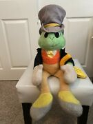 """Pinocchio Character Jiminy Cricket Handcrafted Vintage 24"""" Doll"""