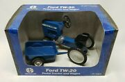 Ford Tw-20 Pedal Tractor And Wagon 1/8 Scale By Ertl