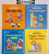 Htf Jim Henson's Muppet Babies Book Set Of 4 Collectible Books Rare 1992