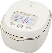 Tiger Jpl-a100 Ih Type Rice Cooker 5.5 Cups White Clay Pot Japan Domestic