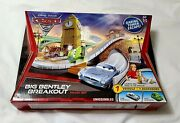 Disney Pixar Cars 2 Big Bentley Breakout Track Set Very Hard To Come By New