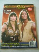 Hercules And Xena Yearbook Topps Publishing 1998 Giants Posters Attached