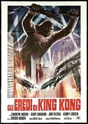 Destroy All Monsters Italian 4f Movie Poster 55x79 怪 獣 総 進 撃 Sci-fi...