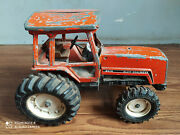Rare Vintage Allis-chalmers 8010 Big Size Diecast Toy Tractor Of 70and039s.