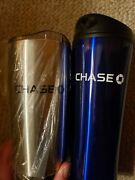 Chase Bank Coffee Lot Travel Mug 20oz Stainless Steel Tumbler Vacuum Insulated