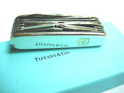 And Co. Sterling Silver Swisschamp Swiss Army Knife - Perfect Gift