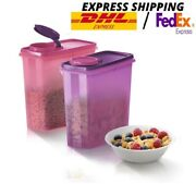 Tupperware Snack Ez Storer Food Storage Containers 2units 2.9l Expedited