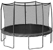 Skywalker Replacement Trampoline Outside Metal Net-15 Ft Round 6 Pole Net Only