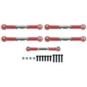 Rcawd Suspension Turnbuckle Tie Rod Toe Steering Link For Redcat Blackout Sc Xbe