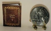 112 Scale Miniature Book David Copperfield Charles Dickens Dollhouse Scale