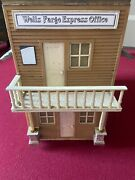 Lgb Pola  Well Fargo Express-building - Weather Proofed Model Building G-scal